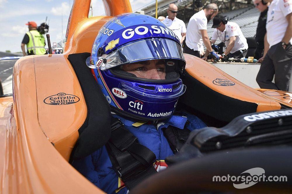 Estrella Galicia 0,0 también estará en el McLaren de Alonso en Indy