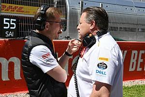 Brown nadal odpowiedzialny za zespół McLarena