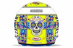 GALERÍA: el casco de Lando Norris para el GP de México