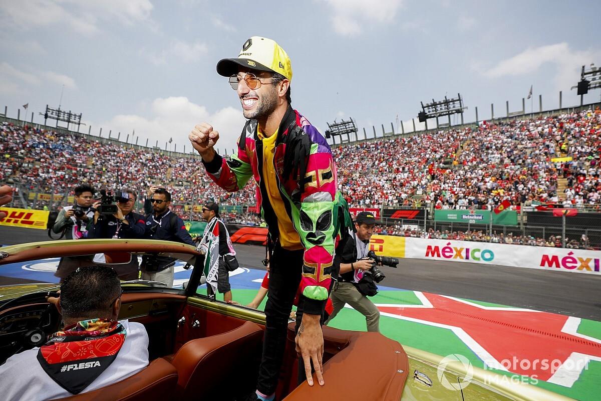 """Ricciardo közvetlenül a rajt előtt: """"Erőteljesen és gyönyörűen hangzol"""""""