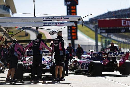 Perez could face pitlane start after missing weighbridge