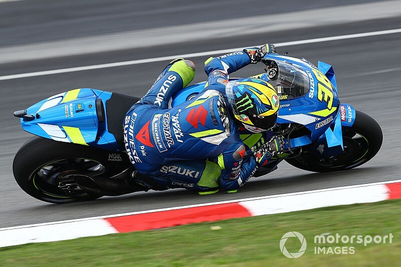 Joan Mir lidera el warm up en Sepang
