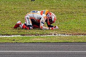 """ماركيز يعترف بأنّ حادثه جاء نتيجة """"نسخه"""" لقيادة كوارتارارو"""