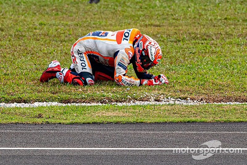 "Marquez admits crash result of ""copying"" Quartararo"