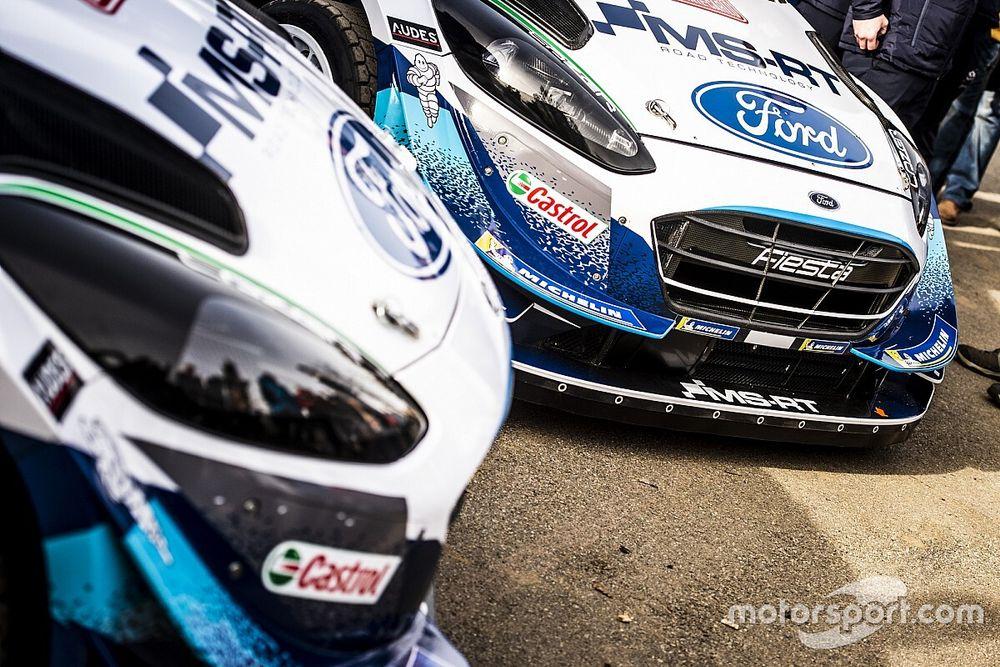 Моторы сразу трех Ford закипели вскоре после старта в Монте-Карло
