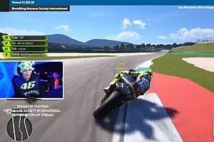 MotoGP: Rossi steso da Quartararo, ma le scuse le riceve Norris