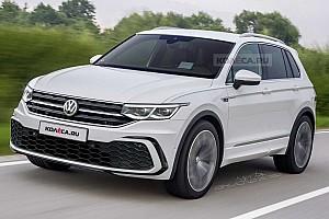 Kémfotók alapján modellezték le a frissített Volkswagen Tiguant