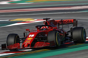 Testupdate 12u: Ferrari neemt de kop over, Mercedes stoïcijns