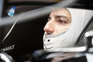 Ricciardo completa el primer test de Renault tras la pandemia