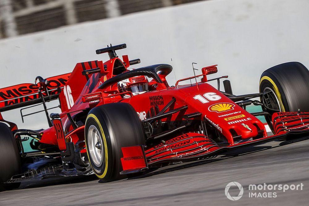 Ferrari: El motor 2020 no es tan fuerte como el anterior