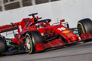 """Leclerc: """"Virajlarda hızlıyız ancak denge harika değil"""""""