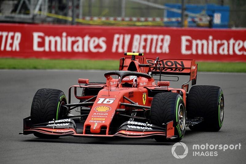 Leclerc faz o melhor tempo no terceiro treino livre para o GP do México