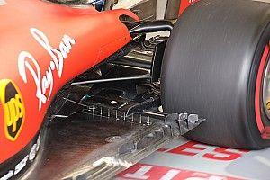 Ferrari: ecco i mini tubi di Pitot sul fondo della SF90