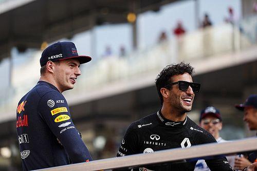 Ricciardo: A Verstappen no le importaba la opinión de los demás