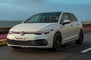 Akár így is kinézhet majd az új Volkswagen Golf GTI
