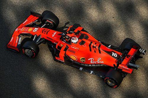 F1, Test Pirelli: Leclerc sale secondo a un soffio da Russell