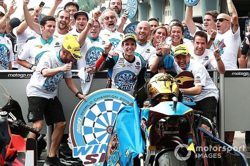 Sepang Moto2: Marquez crowned champion as Binder wins