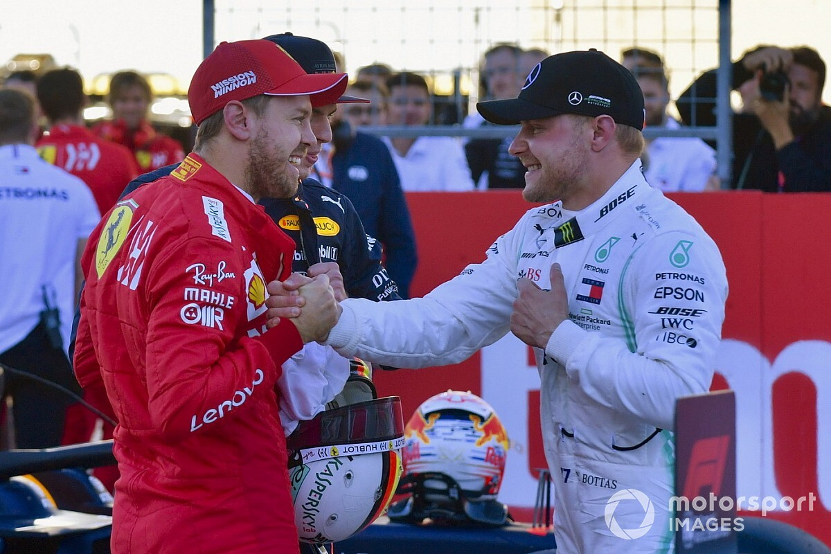 Mercedes ha descartado a Vettel, asegura Bottas