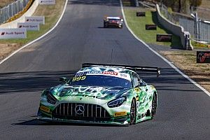 Bathurst 12 Hour: GruppeM Mercedes tops first practice
