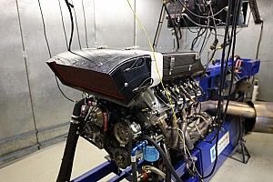 First Kelly Mustang V8 engine complete