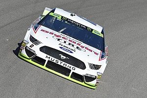 Keselowski leads first Cup practice at Kansas