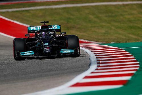 """Hamilton: """"Mercedes, sıralama turlarında biraz geriye düştü"""""""