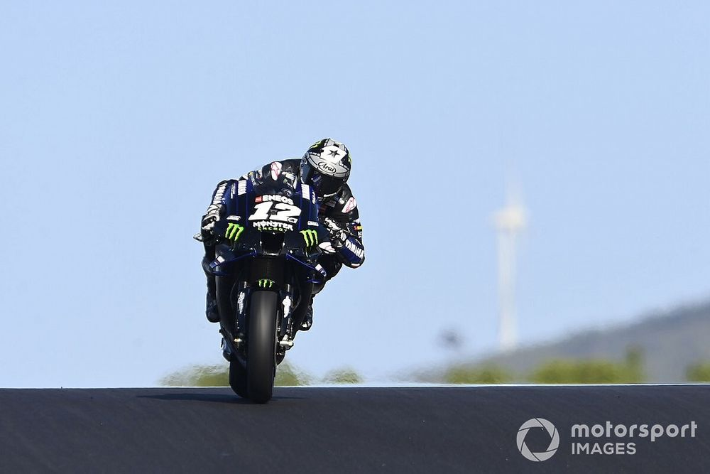 Yamaha problems 'avoided' on Portimao track – Vinales