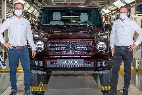 Mercedes G-Class Reaches Production Milestone: 400,000th SUV Assembled