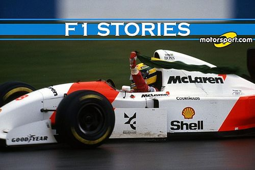 F1 Stories: Donington '93, quando Ayrton camminò sulle acque