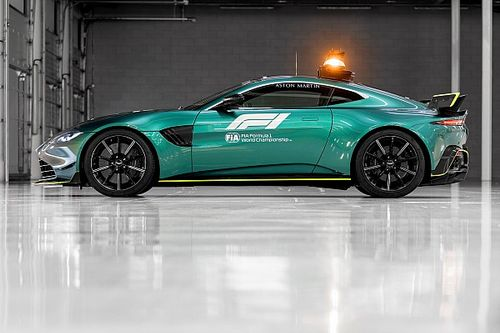 Aston Martin reveals new F1 safety and medical cars