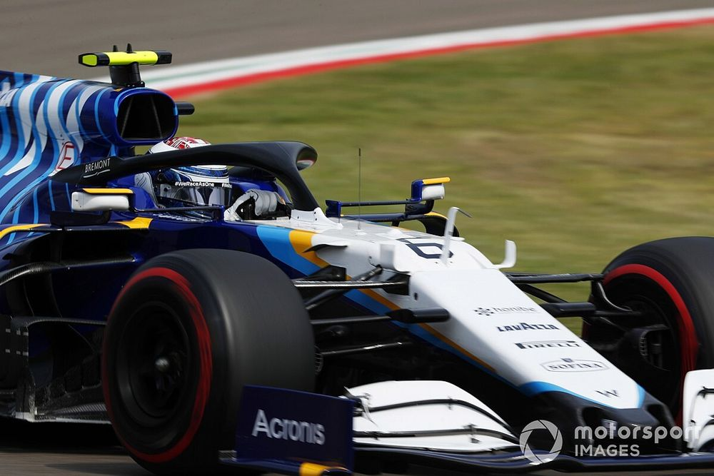 """Williams: Latifi's strong Imola F1 form """"disturbed"""" Russell"""