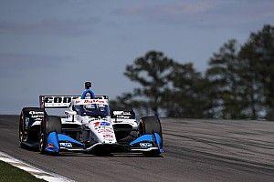 Barber IndyCar: Rahal leads Grosjean in warm-up