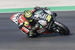 "Crutchlow ""put it on the line"" for final MotoGP qualifying"