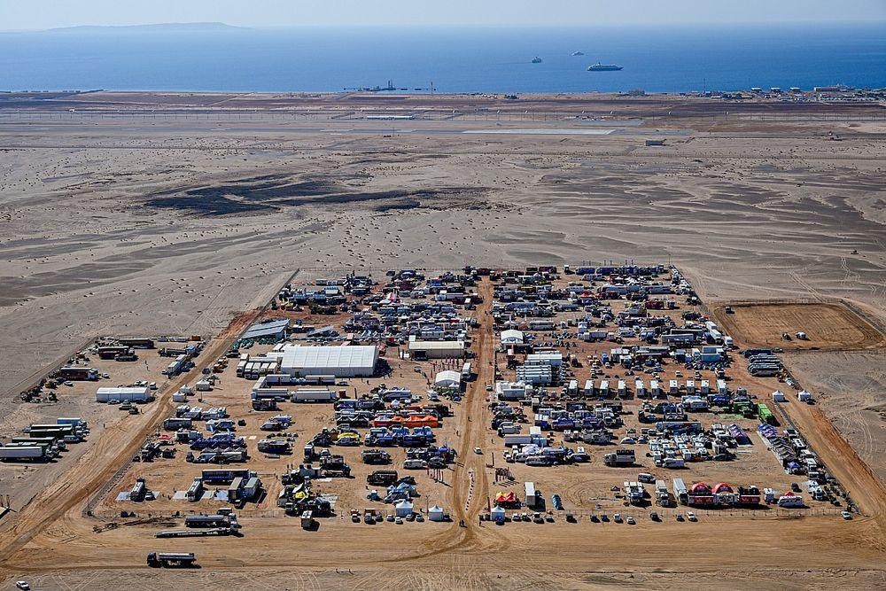Dakar reveals 'green bivouac' plans for 2024