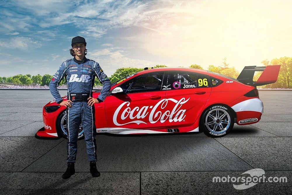 Jones to race Coke-backed Supercar
