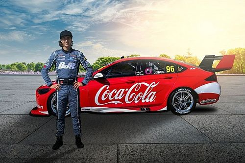 Jones to race Coke-backed Supercar