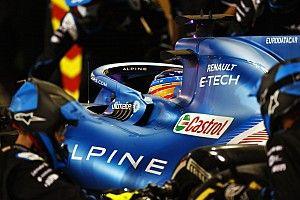 El Alpine de Alonso, sin margen de error para poder puntuar
