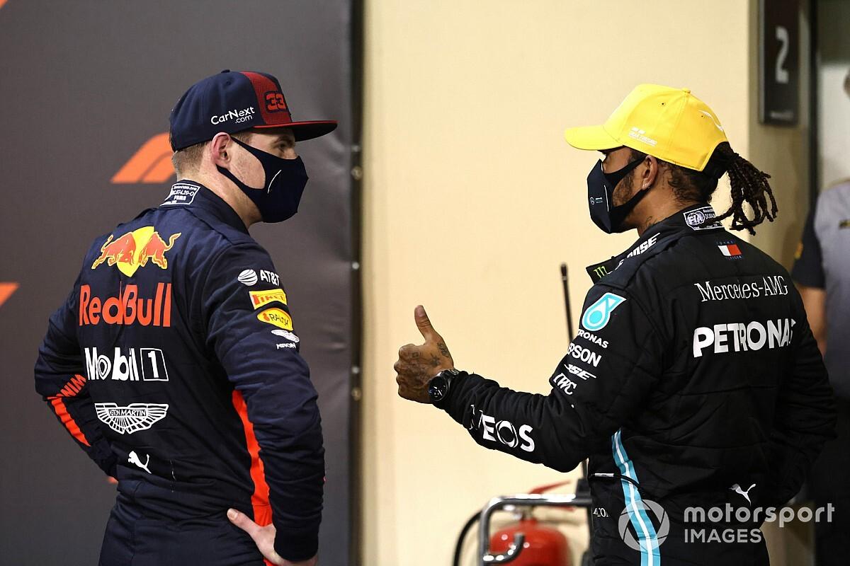 "Horner: ""Verstappen estará en la lista de Mercedes si Hamilton se va"""