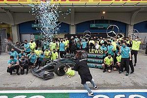 """Button: """"Hamilton hep hızlıydı ama artık stratejiye de önem veriyor"""""""
