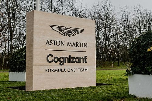 Fire-up: Zo klinkt de Mercedes-motor in de Aston Martin AMR21