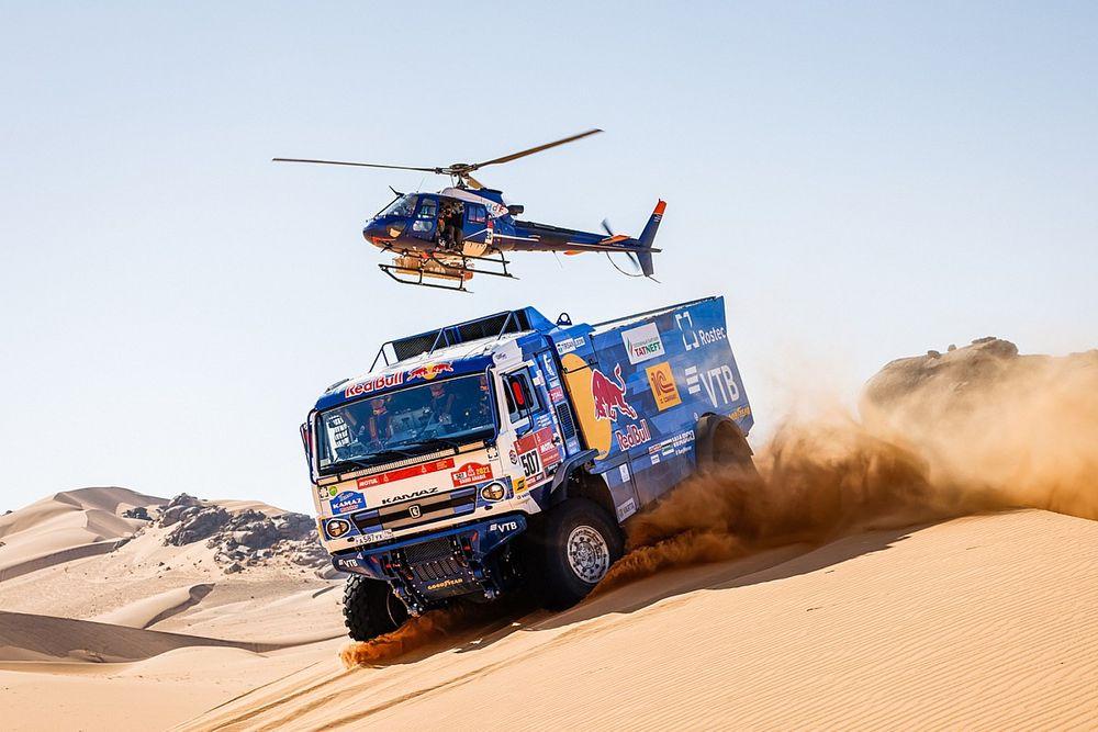 Dakar, Camion, Tappa 2: Sotnikov si ripete