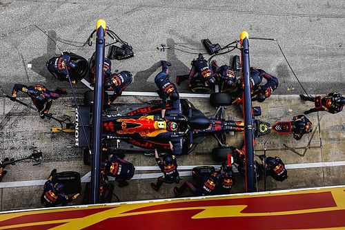 How pitstops evolved into an F1 art form