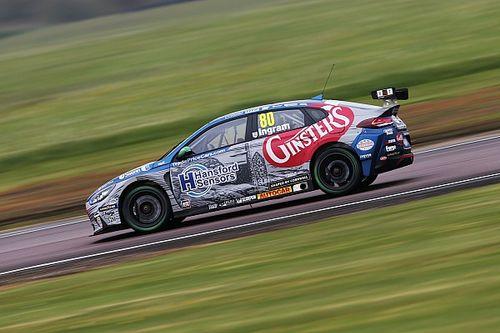 Snetterton BTCC: Ingram beats Sutton to top practice times