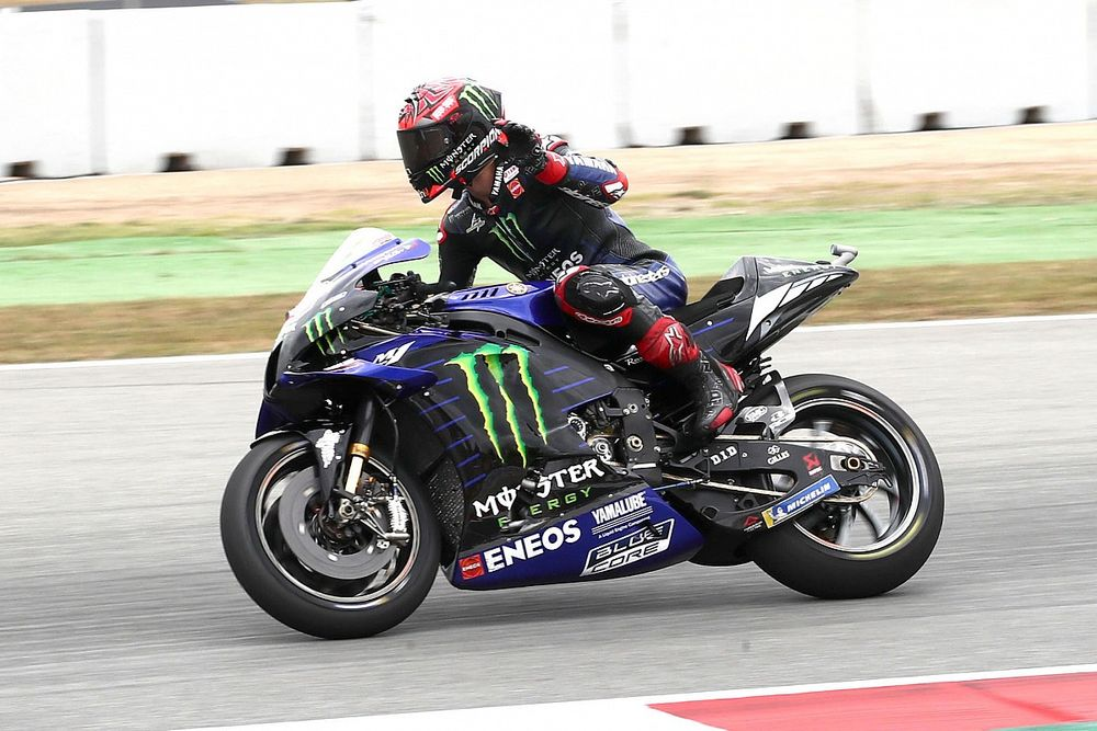 MotoGP dashboard warnings updated after Quartararo incident