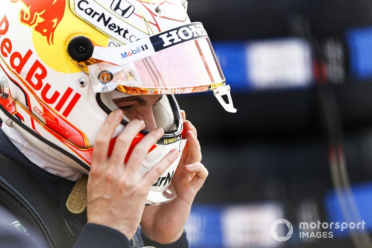 verstappen: lost points will hurt when f1 returns to