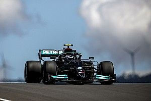 Portuguese GP: Bottas pips Verstappen by 0.025s in FP1