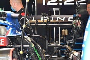Fotos: los detalles de los coches de F1 listos para Portimao