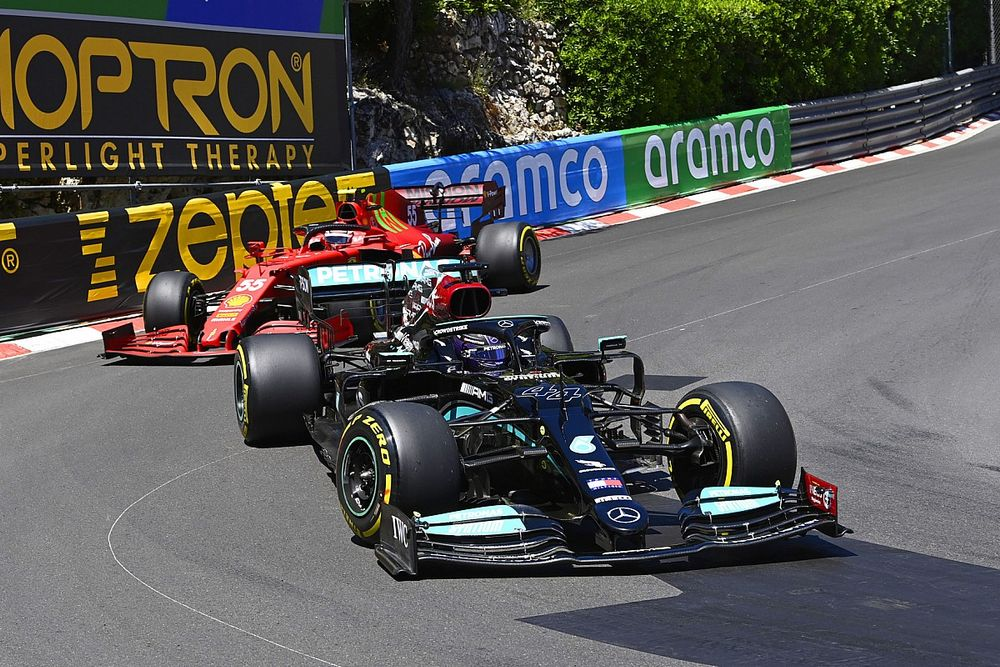 """Hamilton surprised by """"really strong"""" Ferrari pace in Monaco"""