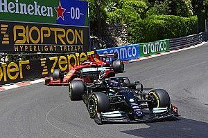 """F1: Hamilton se diz surpreso com ritmo """"realmente forte"""" da Ferrari em Mônaco"""