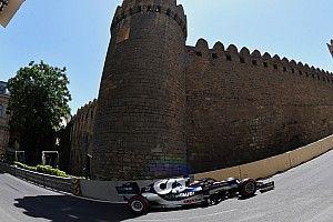 F1アゼルバイジャンFP2速報:ホンダPU勢が好調、レッドブル1-2。アルファタウリ角田は10番手